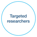 Targeted researchers